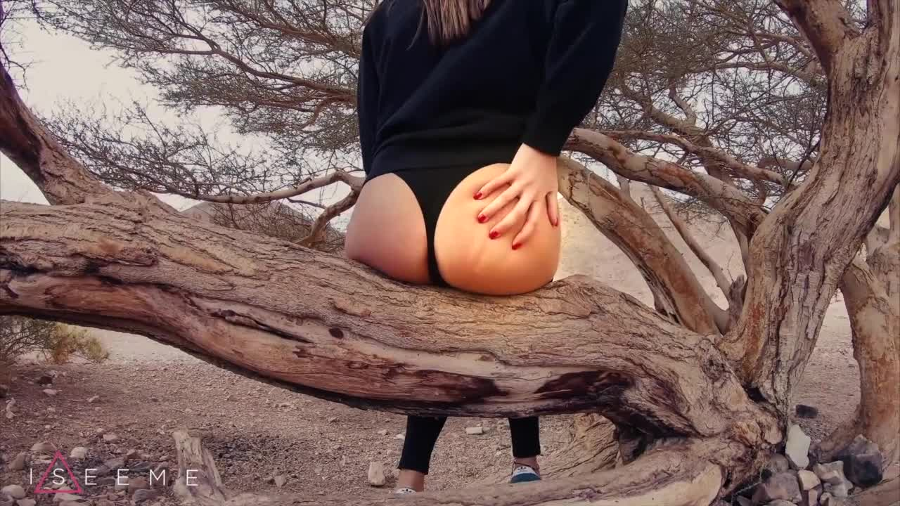 PUBLIC TEEN SEX IN THE DESERT   ISEEME 4K 60FPS.mp4